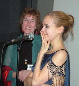Lucie Vondrácková (a la derecha) y  Pamela Mason Wagner (Foto: CTK)