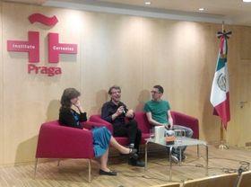 Anežka Charvátová, Álvaro Enrigue, Michal Brabec, foto: Dominika Bernáthová