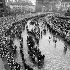 Los funerales de Jan Palach, foto: Miroslav Martinovský