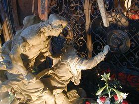 The Killing of St Wenceslas (Sculpture by Matyas Bernard Braun)
