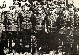 Gestapo soldiers
