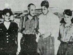 Bohuslav Marek (le deuxième à gauche), photo: ZDF