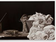 Hynek Martinec: Experience of Being Alive, 2014, olej, soukromá sbírka Praha