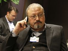 Jamal Khashoggi, photo: Virginia Mayo, File, AP Photo/ČTK