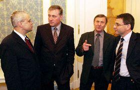 Afiliados de la Coalición del ejecutivo, Foto: CTK