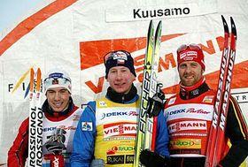 Eidar Roenning, Lukas Bauer, Axel Teichmann, photo: CTK