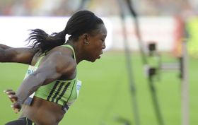 Veronica Campbell-Brown, photo: CTK
