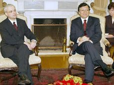 Vladimir Spidla und Jose Manuel Durao Barroso (Foto: CTK)