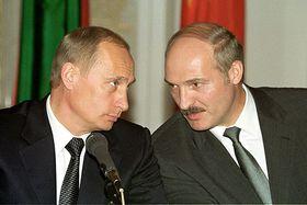 Президенты РФ и Беларуси Владимир Путин и Александр Лукашенко. Фото: архив Администрации президента РФ