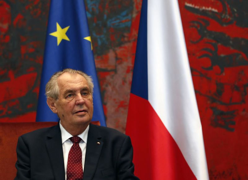 Miloš Zeman, foto: ČTK / AP Photo / Darko Vojinovic