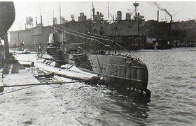 Ponorka U 27 v Pule