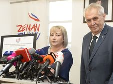 Miloš Zeman and his wife Ivana, photo: CTK