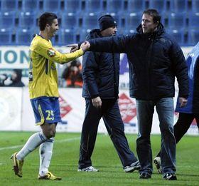 Jiří Plíšek (à droite) et Aidin Mahmutovic, photo: CTK