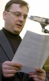 Vicepresidente del Partido Cívico Democrático, Petr Necas, foto: CTK