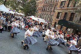 Street Party à New York, photo: CTK