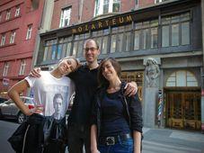 Adéla Mrázová, Jakub Jiřiště, Terezie Křížkovská, photo: Richard Špůr / NaFilM
