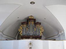 The organ in the church in Rožmitál pod Třemšínem, photo: Martina Schneibergová