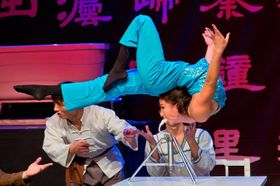 Foto: presentación oficial del Circo Nacional Chino