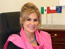 Leonora Rueda, la Embajadora de México, fuente:  Embajada de México