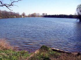 Podleský pond in Uhříněves, photo: Mirekk, CC BY 2.5