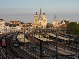 Gare de Dijon Ville, photo: G CHP, CC BY-SA 2.5