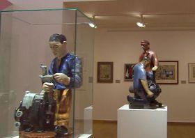 """Ausstellung """"Eine gespaltene Zeit (Foto: Tschechisches Fernsehen)"""