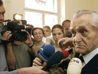 Na čtyři roky do vězení poslal dnes Městský soud v Praze vysokého předlistopadového funkcionáře KSČ Karla Hoffmanna, foto: ČTK