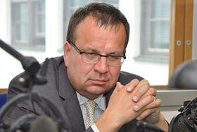Jan Mládek, photo: Marián Vojtek / ČRo
