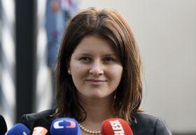 Jana Maláčová, photo: Michal Krumphanzl/ČTK