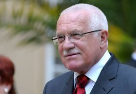 Presidente Václav Klaus, foto: Archivo del Gobierno checo