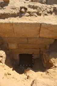 Вход в подземелье гробницы Хуи , фото: Гана Вымазалова, архив Чешского египтологического института