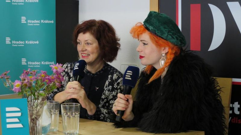 Helena y Žofie Dařbujánová, foto: Milan Baják, ČRo