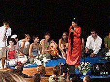 Yungchen Lhamo en el festival Colours of Ostrava (Foto: Karin Fajkusová)