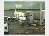 Flugzeug von CSA am Flughafen in Prag