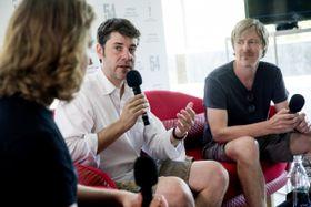 Entrevista con  Ivan Zachariáš y Martin Krejčí, foto: Film Servis KVIFF