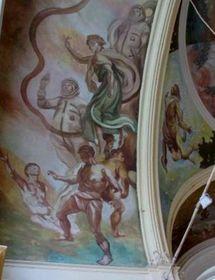 Фреска на Главной колоннаде, Фото: Катерина Айзпурвит