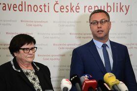 Marie Benešová y Pavel Zeman, foto: ČTK / Roman Vondrouš
