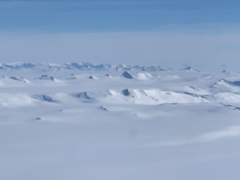 South Pole landscape, photo: Archive of Knowlimits