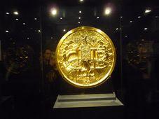 Druhá největší zlatá mince na světě, foto: Zdeňka Kuchyňová