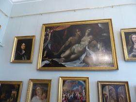 Ve Valdštejnské galerii se vyjímá Sprangerův obraz Venuše aAdónis, foto: Klára Stejskalová
