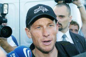 Šestinásobný vítěz závodu Tour de France Lance Armstrong, foto: ČTK