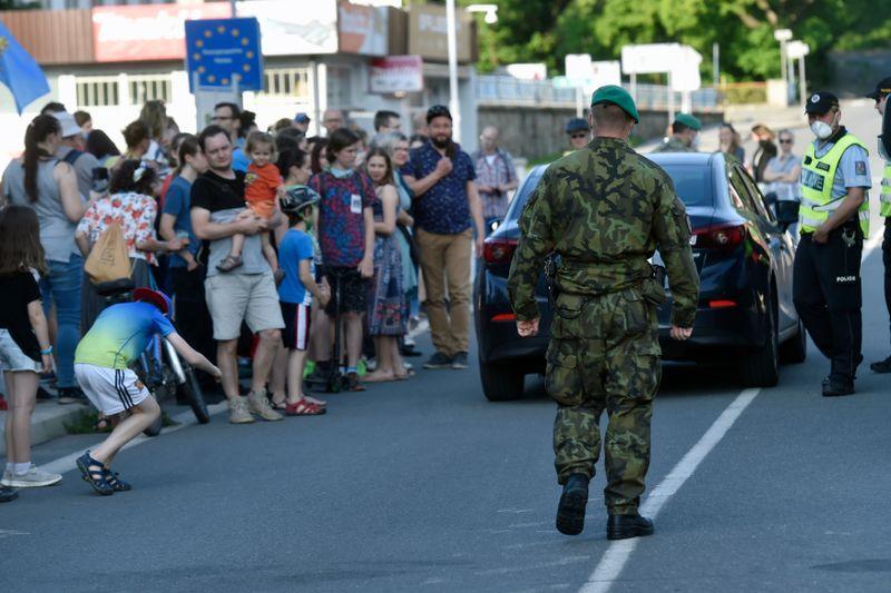 Czech Republic–Poland border in Český Těšín, photo: ČTK / Jaroslav Ožana