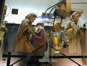Apóstoles del reloj de la Ciudad Vieja de Praga