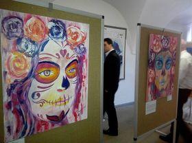 Pintura de Paco Rocha, foto: Dominika Bernáthová