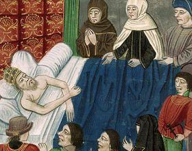 Muerte de Carlos IV, foto: Museo Nacional de Praga