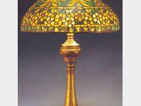 Tiffanyho lampa, foto: Ateliér Skleněnka