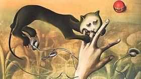 Stanislav Podhrázský, La imagination de la peur - le chat, 1949