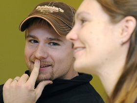 Kateřina Emmons with her husband Matthew, photo: CTK