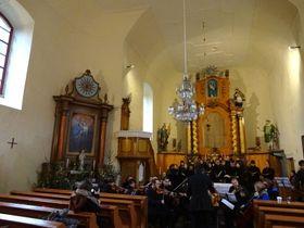 V kostele sv. Martina ve Zlaté Olešnici, foto: Milena Štráfeldová