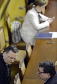 Petr Nečas y Alexandr Vondra, foto: ČTK